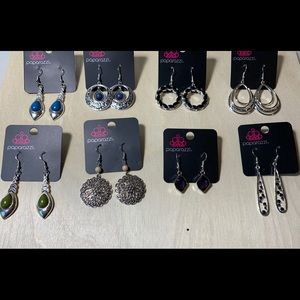 Lot of 8 NWT Paparazzi earrings